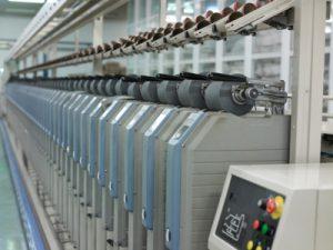 Large spinning machine